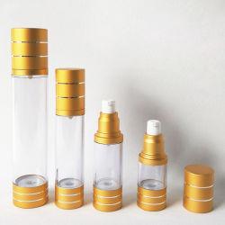 Vakuum-Plastikflasche Airless-Flasche Aus Kunststoff Hochwertiger Vakuumbehälter 10ml 15ml 20ml 30ml 50ml 80ml 100ml 120ml Serum-Lotion Flasche