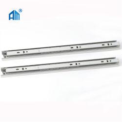 10% korting op Hook Style/Soft Closing/Push Open 3-voudig volledig verlengstuk Hardware voor meubilair 35/42/45mm Schuif/telescopisch kanaal/schuif voor kogellager