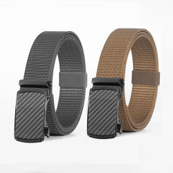 New Design Click Buckle Verstellbare Casual Jeans Golf Ratchet Nylon Band