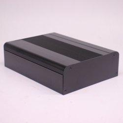 Allegato di alluminio delle espulsioni per il trasmettitore o la ricevente del segnale con superficie anodizzata nera