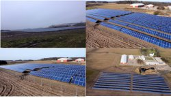 저렴한 단일 축 Sun 추적 시스템. Solar Tracker for 솔라 패널