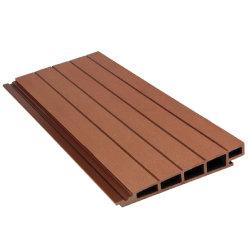L'extérieur Windproof résistant aux UV Colorfast Look en bois de feu de longue durée nominale WPC bois mur composite en plastique