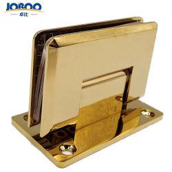 Joboo Zb510 ha smussato il supporto d'ottone della parete del raso personalizzabile del bicromato di potassio accessori della stanza da bagno del connettore delle cerniere di portello di vetro Tempered da 90 gradi