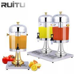 ケイタリングのための安い単一のJuicerディスペンサー機械8L 16L商業取り外し可能なステンレス鋼のプラスチックビュッフェ水フルーツジュースの冷たい飲み物の飲料ディスペンサー
