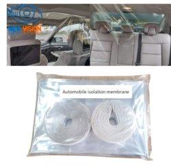 Completamente cerrado de espuma Anti-Flying transparente de seguridad para el vehículo con el aislamiento de la película protectora