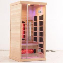 Far Infrarood Steam Sauna Kamers Home Sauna tent voor ontspanning Voor 1 persoon