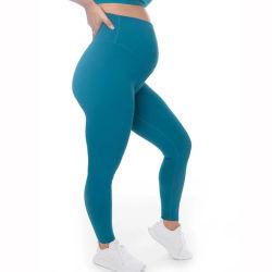 Alti pantaloni di yoga della vita dei vestiti di maternità all'ingrosso per le donne di gravidanza