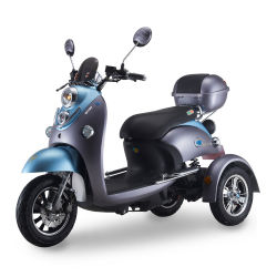 Aanpassing 3 Voertuig Met drie wielen van de Autoped van Ebike van de Motorfiets van de Motorfiets van het Wiel het Elektrische Elektrische voor Bejaarden