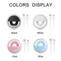 Universal 3 - Ebenen LED Handy Kamera LED Selfie Klingelleuchte für Mobiltelefon