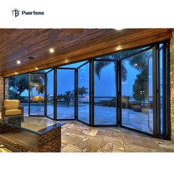 Pella-Aluminiumglasbi-Falz-Tür/Aluminiumeckakkordeon-Falz-Tür
