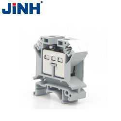 Jinh UK série Connecteur de câblage électrique du bloc de jonction rail DIN