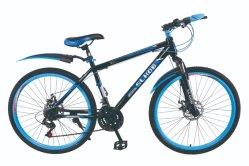 26 بوصة من الصلب دراجة رخيصة MTB Downhill الجبلية في الزرقاء اللون