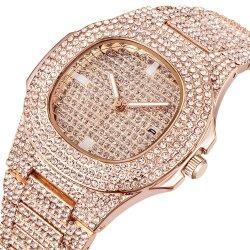 علبيّة يبيع [بوسّينسّ] ماس ساعة [ستينلسّ ستيل] رفاهية ساعة هبة لأنّ ذكر