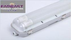 IP65は湿気がある証拠Anti-Corrosion T8屋外の花盛りの線形ランプの据え付け品の防水据え付け品の花盛りランプに合う軽い三証拠の照明を防水する