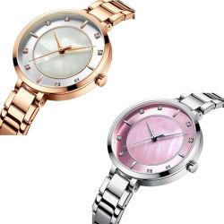 Vigilanza operata originale delle donne di alta qualità delle signore di Parigi dell'ultimo orologio del regalo di modo del principale 10 del fornitore