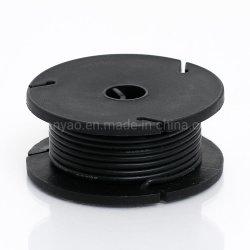 Odseven cubierta de silicona recubierto de caucho de alambre trenzado Core - 25M 26AWG mayorista negro