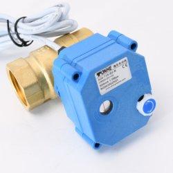 DN25 2-polig, 1 Zoll, Messing, CR2 01 DC12/24V, elektrisch Kugelmotorgesteuerte Ventilsteuerung