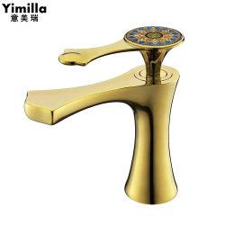 Горячая продажа латунные туалетом Ванная комната золота роскошь старинной Faucets радиатора
