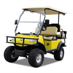 電気おかしなゴルフカートハンチング車(DEL2022D2Z、黄色)