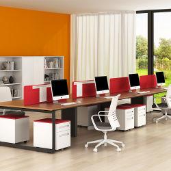 Moderne Büro-Partition-Arbeitsplatz-Tisch-Zelle-Schreibtisch-Kundenkontaktcenter-Büro-Möbel