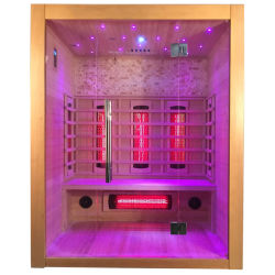 Houten Sauna met de Infrarode Zaal van de Sauna van de Massage van de Voet Houten voor Verkoop