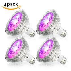 E27 lampada LED IR UV a 45 Gradi Per Far Crescere la luce