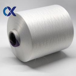 Raw White Yarn DTY 150/48 Nim Polyester Yarn للحليب