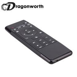 Mini Keyboar Air de la souris sans fil Mini-P1 de la souris avec rétro-éclairé de l'air petit clavier sans fil en plastique pour Android TV Box