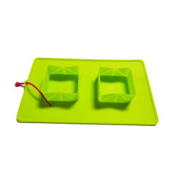 Commerce de gros chien pliable de pliage de silicone Portable Pet Bol de voyage du convoyeur