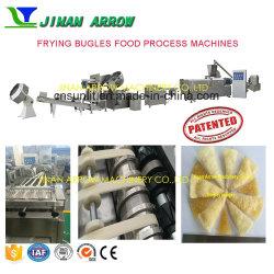 Le macchine fritte di processo dello spuntino hanno fritto la riga degli spuntini