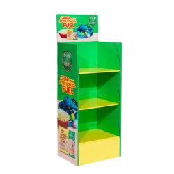 Affichage des unités de vente au détail personnalisé Pop carton POS Bin Stand pour les supermarchés