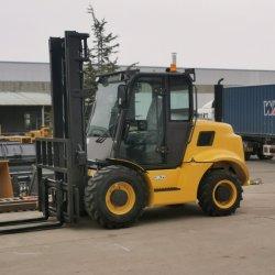 3.5톤 4X4 4WD 전지형 지게차 Car퇴직자 Elevadora Todoterreno Montacargas Todoterreno for Construction(건설)