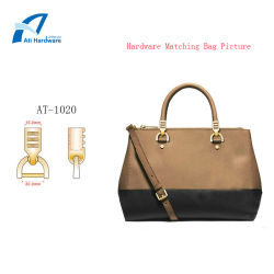 Poignée en Métal Décoration de style spécifique pour les femmes d'accessoires de mode de sac sac à main