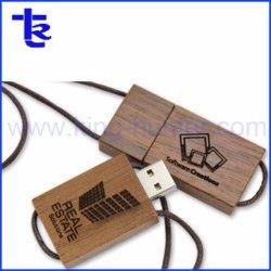 Custom деревянные USB флэш-диск в подарок для продвижения