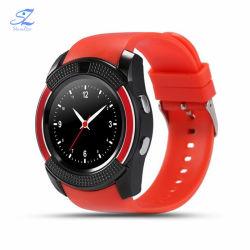 Multifonction SIM V8 G-Sensor Andriod Camare Cheap Smart montre avec un appel téléphonique
