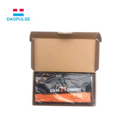 20W 40W solar plegable personalizado portátil cargador de teléfono móvil