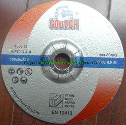 Rotelle abrasive di taglio dell'obbligazione della resina di alta qualità