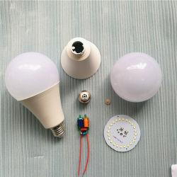 中国の製造者のホーム安いB22 7W 18W 12W 9W LED球根の原料の部品