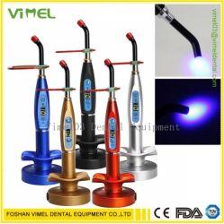 가벼운 램프 무선 5W 1500MW 파란 가벼운 플라스틱을 치료하는 치과 LED