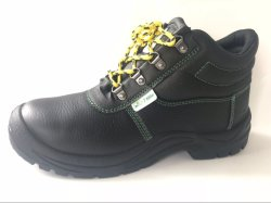 Semelle en caoutchouc à bon marché de travail durables des chaussures de sécurité à Guangzhou
