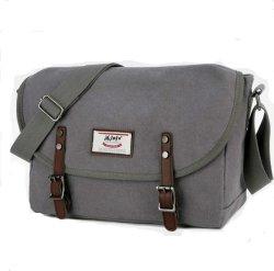 Borsa a tracolla in tela, borsa a tracolla casual, uomo, stile orizzontale, borsa Messenger