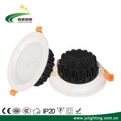 Lampe 9 watts haute Lumen PC d'éclairage intérieur de l'aluminium Ce Embedded Downlight LED SMD 5730 Voyant du panneau