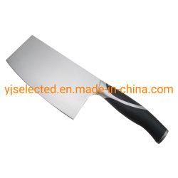 Couteau de cuisinier chinois classique en acier inoxydable de carbone