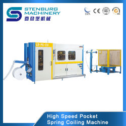Bolsillo de alta velocidad completamente automático de bobinas de primavera/enrollando/Coiler /formando/haciendo colchón Máquina/máquina de producción