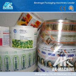 Pet PVC de alta calidad PO POF funda retráctil Etiqueta para botella de refresco el embalaje