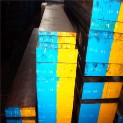 Standard H13/1.2344/SKD61 mueren de trabajo en caliente de aceros planos de acero para la extrusión muere