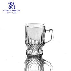 Glascup des runden unteren füßigen Tee-5oz mit Griff (GB090805ZS)