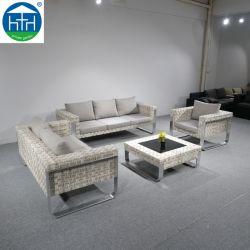 Terrasmeubelen Buiten Bank Set Chaise Lounge Rattan Wicker