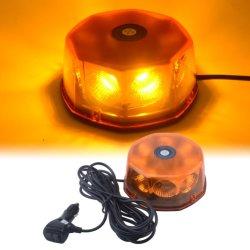 Het amber Licht van de Stroboscoop van het Dak van het Baken van de Waarschuwing van het Gevaar van de Noodsituatie, 48W MAÏSKOLF 8 leiden met Magnetische Basis 10 Patronen met inbegrip van het Opvlammen/Stroboscoop/Roterende Wijzen