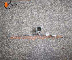 """Collier de serrage de suspension Heliformed avec """"O"""" anneau pour câble ADSS"""